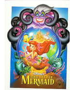 Disney Little Mermaid Never sold rare Lithograph - $33.64