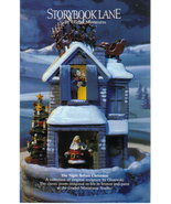 The Night Before Christmas story book Goebel Miniatures - $775.00