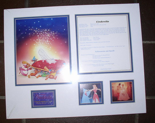 CM Disney Cinderella Only LE 1500 LITHOGRAPH Make Offer