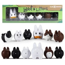 Frank Kozik Labbit with Littons Vinyl Figure by Kidrobot - $17.41