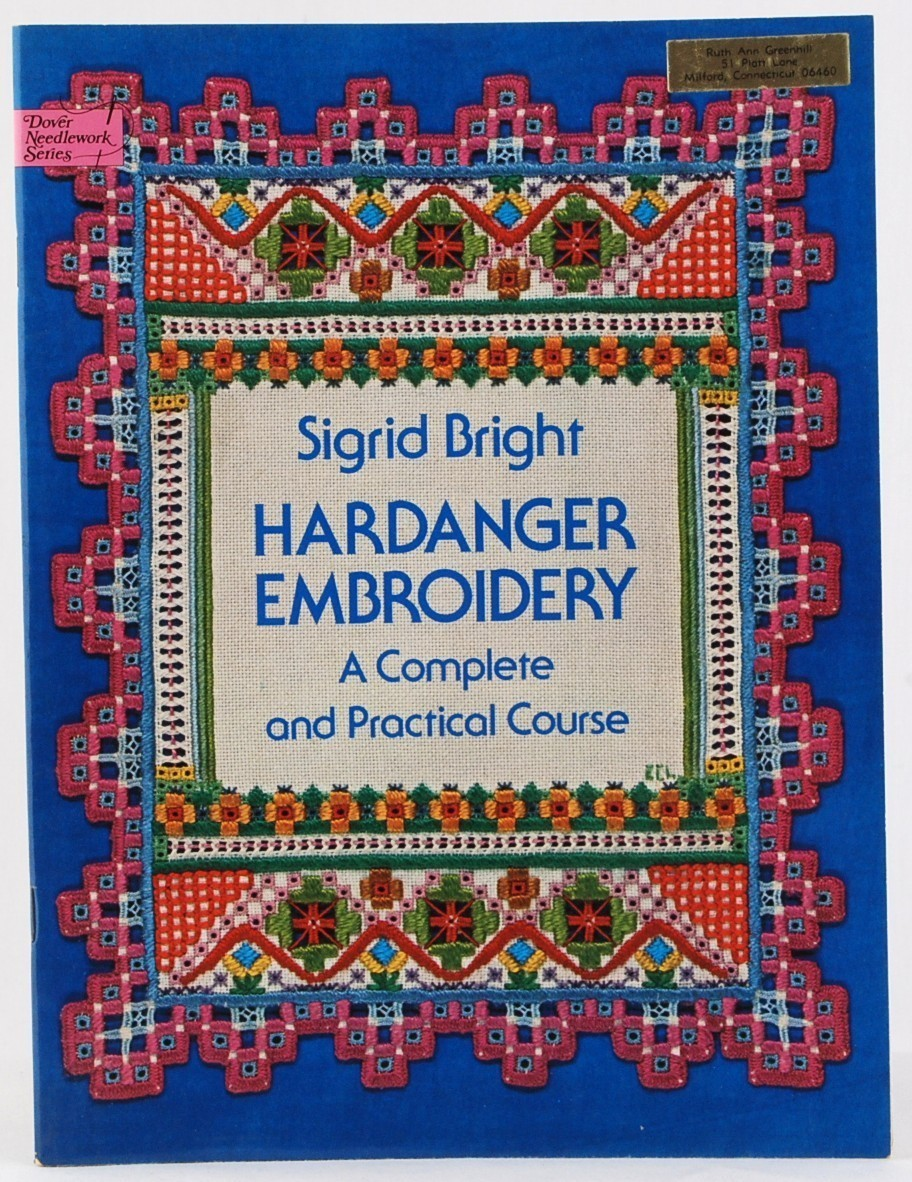 Book hardanger embroidery