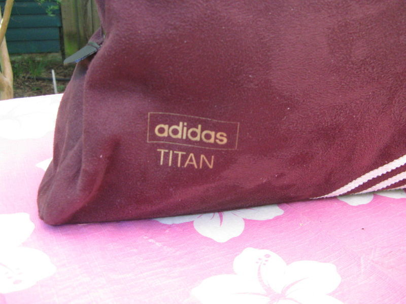 Vintage Adidas Titan athletic bowling bag