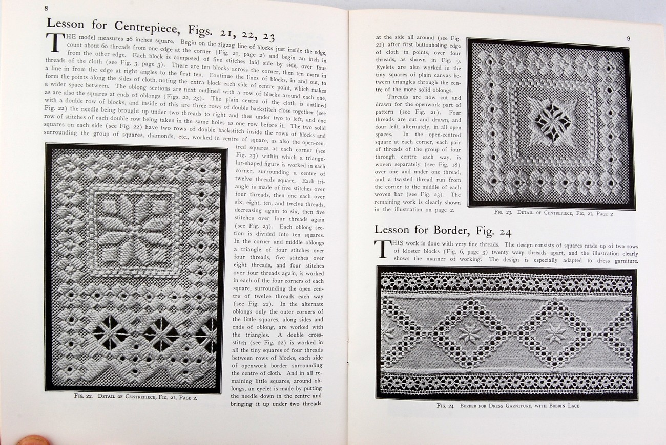 Hardanger Embroidery Sigrid Bright Complete Practical Course Needlepoint Lessons