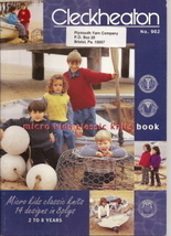 Micro Kids Classic Knits 14 Designs in 8 Plys 2 to 8 Years - $9.50