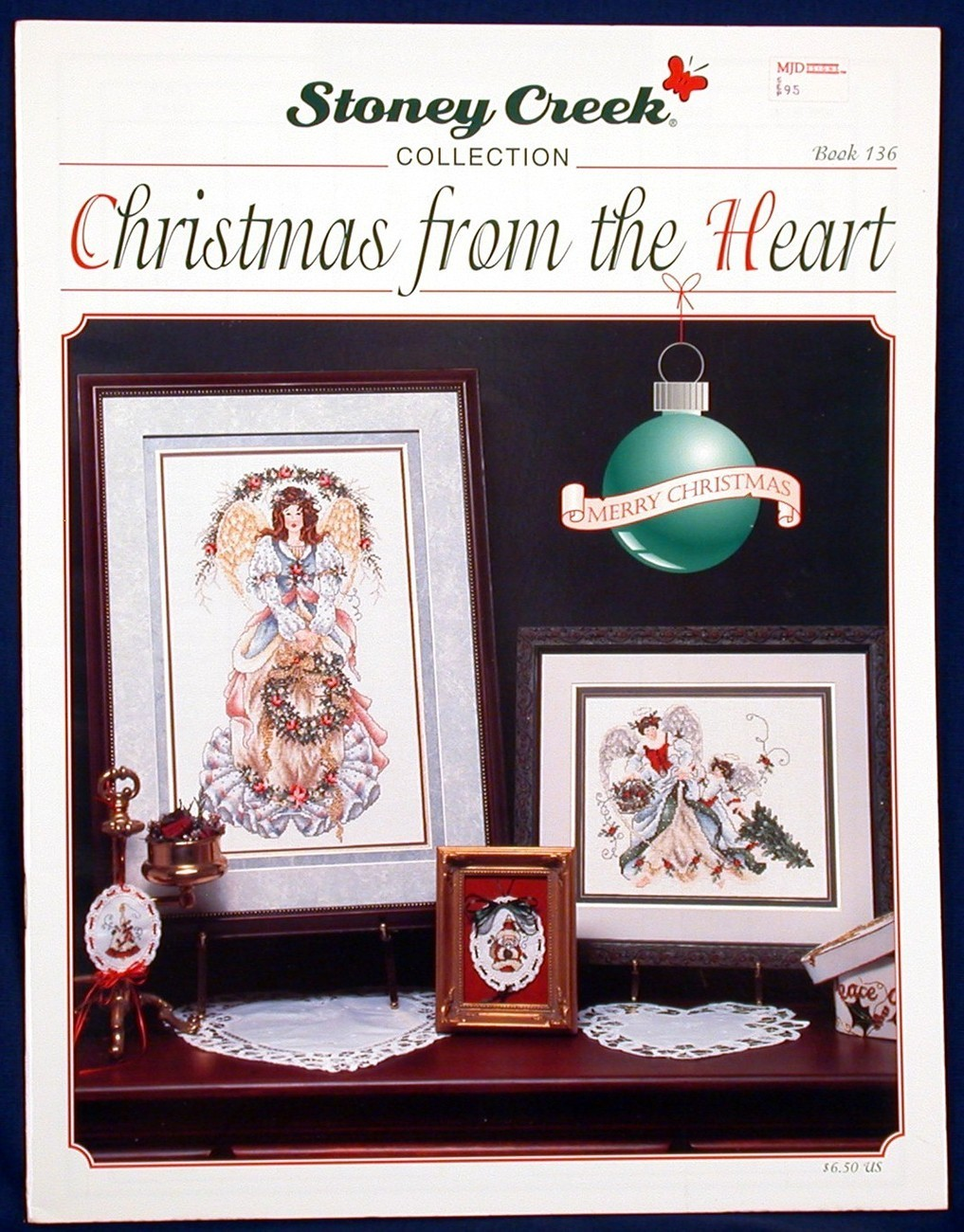 Cross stitch christmas from the heart