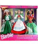 Barbie 1994 Dolls of the World Gift Set (3 Dolls) Limited Edition Set - $117.80