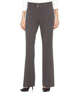 $39.98 Alfani Two-Button Curvy-Fit Pants Grey 2 - $27.94