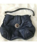 Franco Sarto Faux Leather Dark Blue Hobo Hand Bag - $20.56
