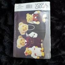 Vogue 8959 501 Vogue Teddy Bear Family Clothing UNCUT - $8.95