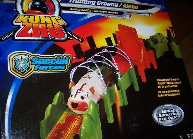 Kung Zhu Hamsters Special Forces Alpha Training Grounds NEW