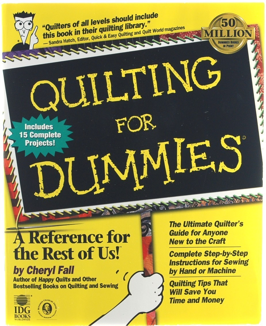 Book quilting for dummies