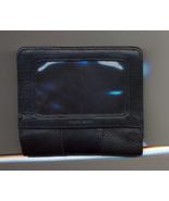 Black Leather ID Card / Change Wallet - $10.00