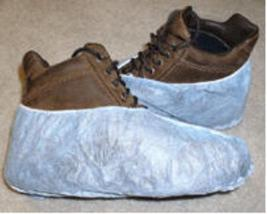 Disposable Shoe Covers 10 pair - $4.00