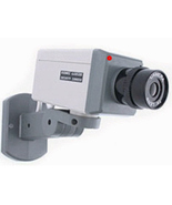 Imitation or Dummy Security Camera with Motion Detector Flas - $8.00