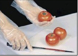 Poly Disposable Gloves Box 1000 - $10.00
