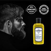 Alonzo's Sensational Premium Natural Shaving Oil for Men | Works as Moisturizing image 6
