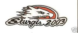 "STURGIS RALLY MOTORCYCLE PATCH 2003 EAGLE ""NEW"" - $3.00"