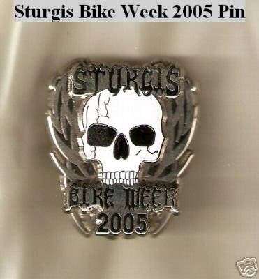 "STURGIS BIKE WEEK SKULL PIN COLLECTORS ""BRAND NEW"""