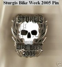 "STURGIS BIKE WEEK SKULL PIN COLLECTORS ""BRAND NEW"" - $4.00"