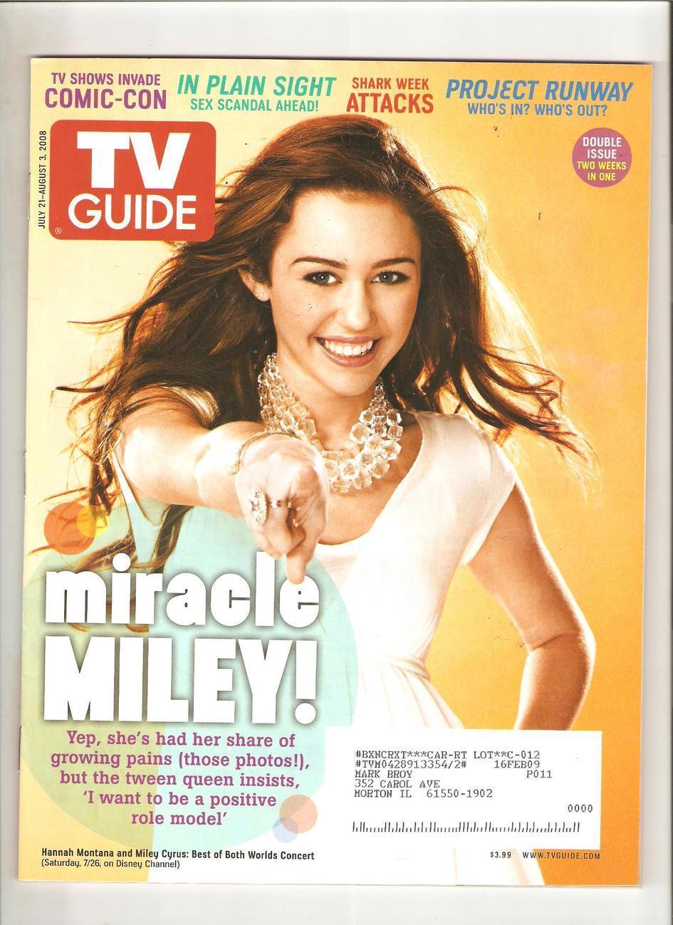 Miley Cyrus - TV Guide (July 21,2008)