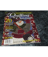 Quilting for Christmas Magazine Holiday 2006 Timeless Christmas - $2.99