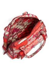 Vera Bradley Signature Cotton Turnlock Satchel Bag, Bohemian Blooms image 3