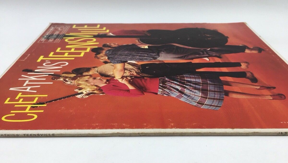 CHET ATKINS teensville LP LPM-2161 RCA Mono 1s/1s Vinyl 1960 Record