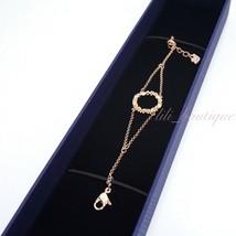 NIB Swarovski 5358847 Admiration Bracelet White Rose Gold Tone Plated 15... - $59.95