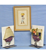 African American Print & Bookends - $18.00