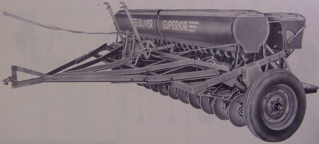 Oliver 38 Low Wheel Grain Drill Parts Manual - Original
