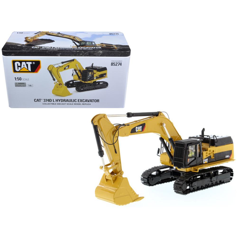 CAT Caterpillar 374D L Hydraulic Excavator with Operator High Line Series 1/50 D