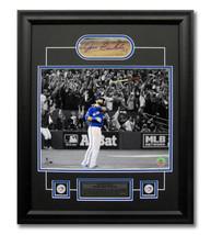 Jose Bautista Toronto Blue Jays Cut Autograph 2015 ALDS Bat Flip 23x19 F... - $280.00