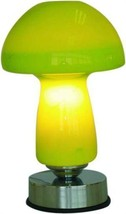 Green Electric Touch Lamp  Oil or Tart  Warmer   - $23.50