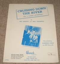 Cruisng Down the River (On a Sunday Afternoon) sheet Music - $6.99