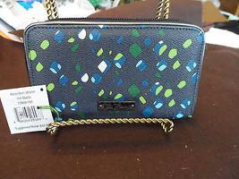 Vera Bradley Accordian Wallet in Ink Spots - $29.95