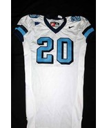 UNC Tarheel GAME USED WORN FOOTBALL JERSEY SIZE... - $59.00