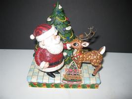 Figurines Jim Shore Disney Traditions Rudolph and Santa - $50.00