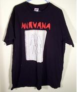 Vintage Nirvana T-Shirt Men's XL - $8.69