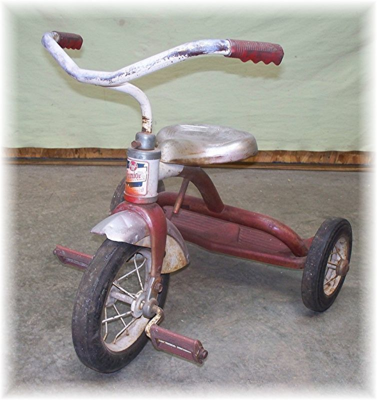 TRICYCLE Trike Vintage Red AMF Junior Garton Schwinn!