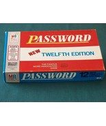 Password 12th Edition, Milton Bradley 1970. Complete - $8.00