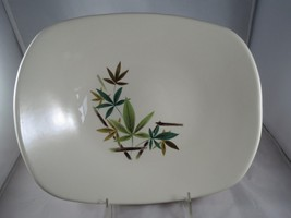 VTG  SALEM WOODLAND SERVING BOWL Bamboo 50'S MI... - $14.85