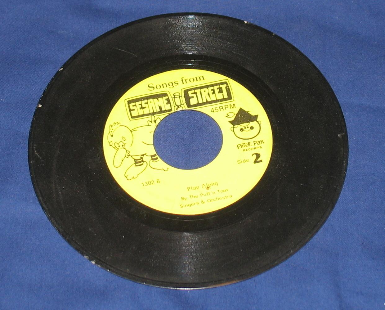 Sesame Street Sing & Play Along 45 rpm