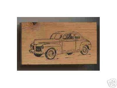 1948 Mercury Car Rubber Stamp Automobile