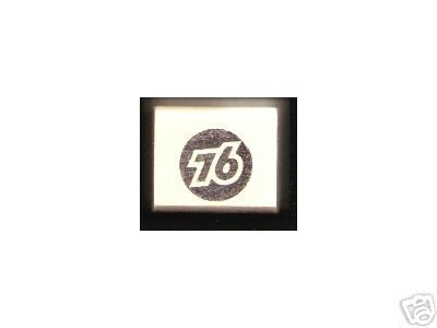 Union 76 oil gasoline logo Rubber Stamp