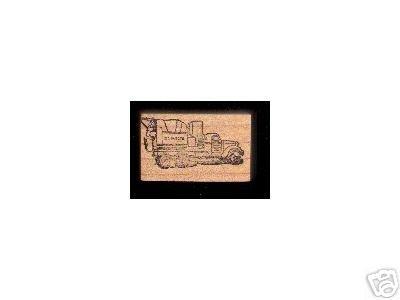 Vintage Klinker Cement Truck Rubber stamp