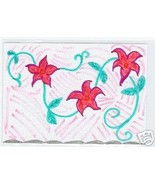 Flower Vine ACEO Original Hand drawn star flowers - $10.00