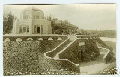 Real PHOTO OREGON Postcard Vista House crown point