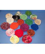 Kitchen Scrubbers Safe Eco Friendly Crocheted Handmade - $2.00