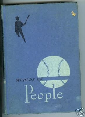 Worlds Of People 8th Grade Reading book 1951 Reader