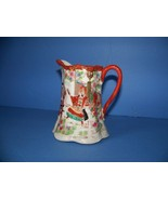 Geisha Girl Pitcher creamer Samurai Dance Porcelain - $65.00